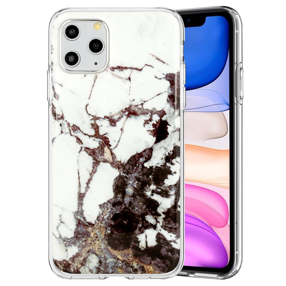 Ochranný kryt na mobil Marble Glitter pro  Xiaomi Redmi Note 9 vzor -  2 5900217376798