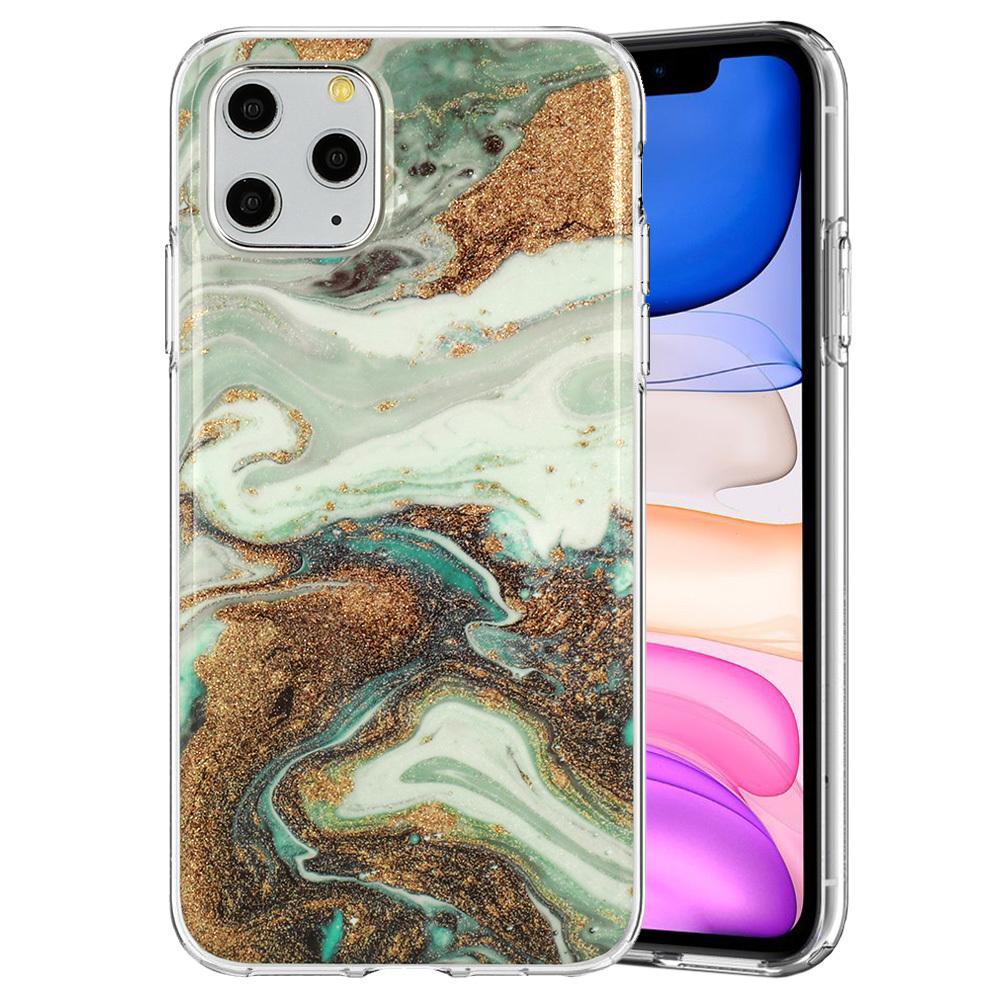Ochranný kryt na mobil Marble Glitter pro  Xiaomi Redmi Note 9 vzor -  5 5900217376828