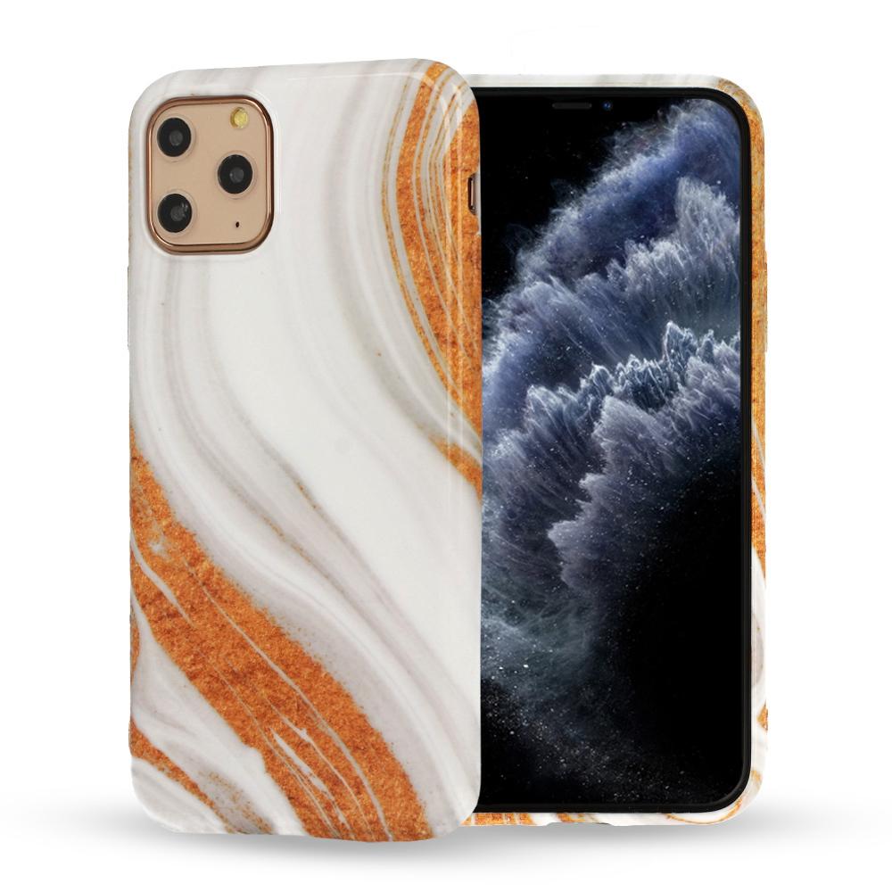 Silikonové pouzdro na mobil Mramor pro Iphone 12 Pro Max vzor -  1 5900217377726
