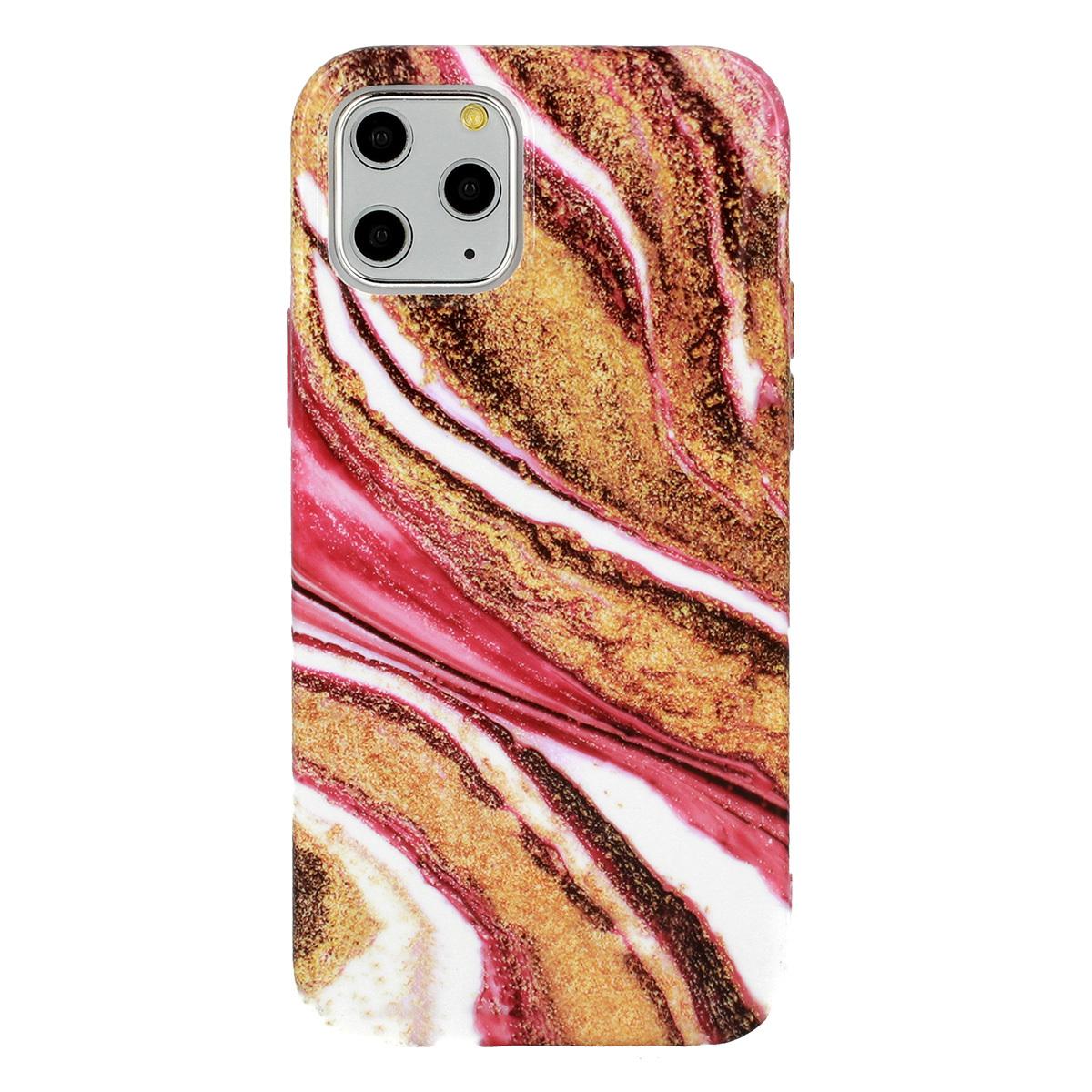 Silikonové pouzdro na mobil Mramor pro Iphone 12 Pro Max vzor -  8 5900217377795