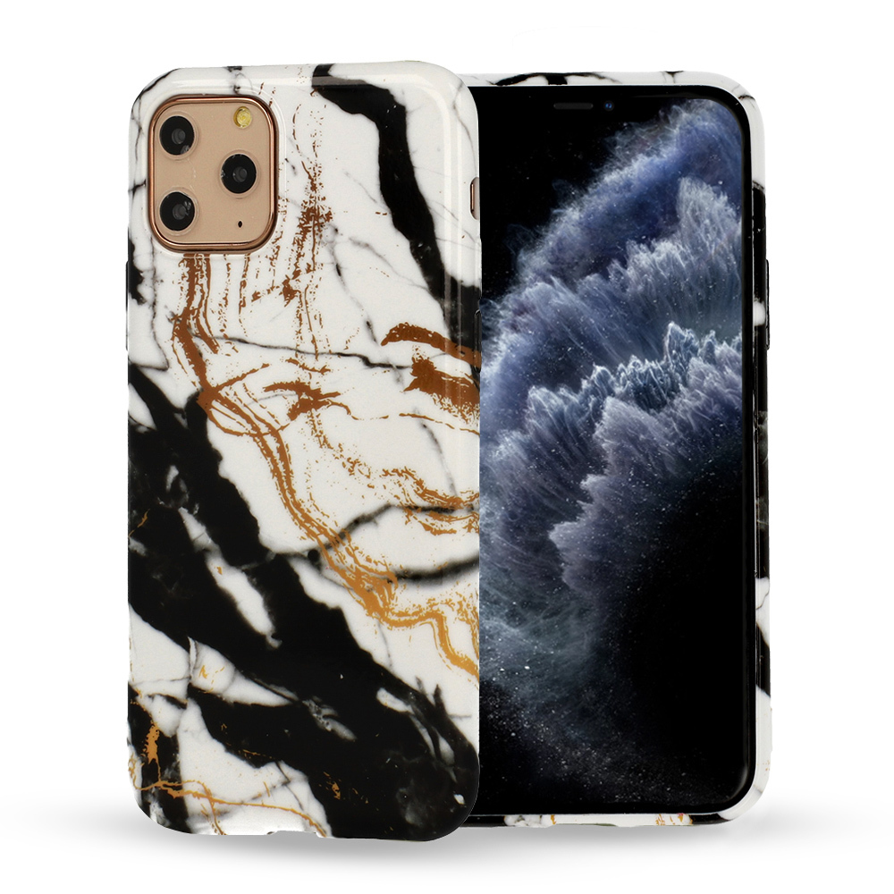 Silikonové pouzdro na mobil Mramor pro Iphone 12 Mini vzor -  3 5900217377566