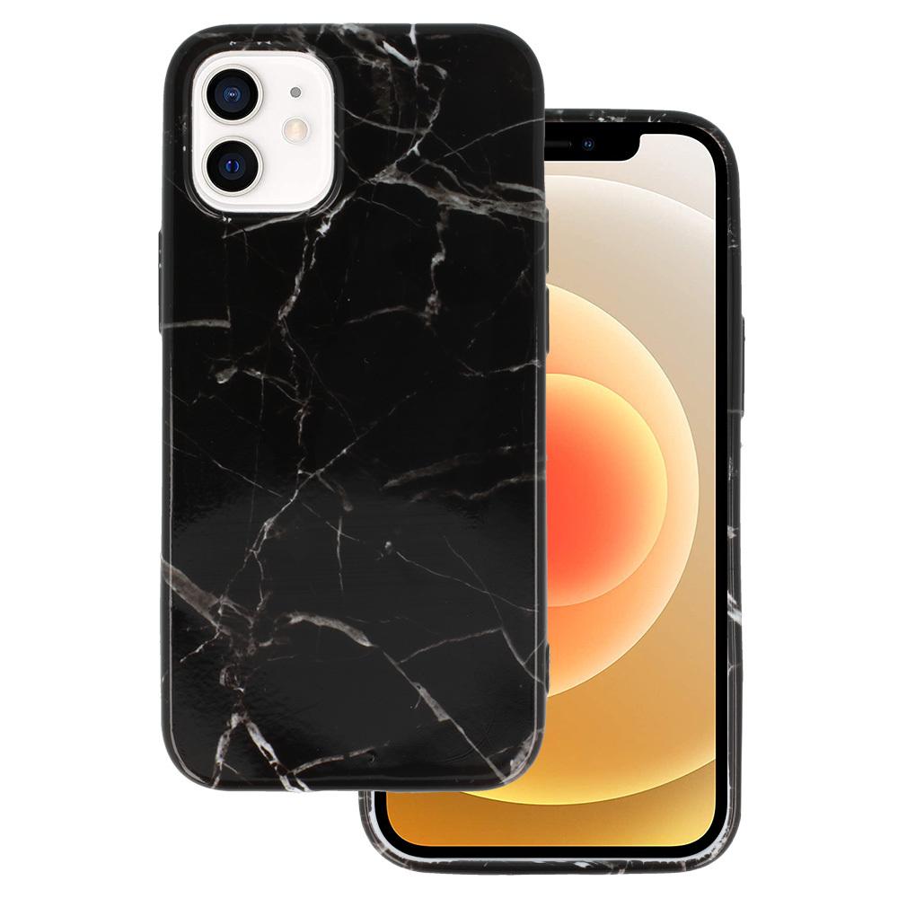 Silikonové pouzdro na mobil Mramor pro Iphone 12 Mini vzor -  6 5900217377597