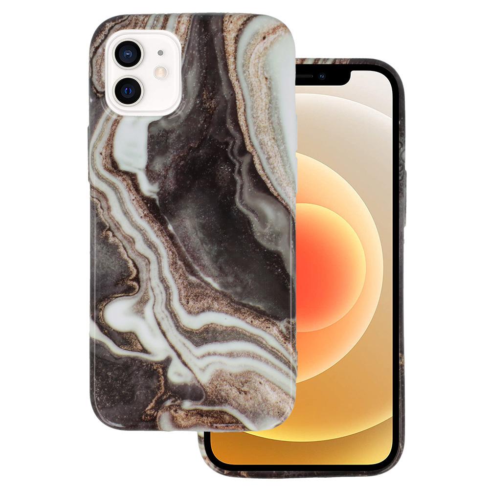 Silikonové pouzdro na mobil Mramor pro Iphone 12 Mini vzor -  7 5900217377603